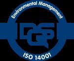 Qualitätssiegel Environmental Management ISO14001 für Nachhaltigkeit