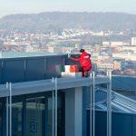 Säuberung der Fassade und Gebäudewände