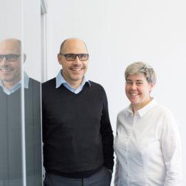 Familienbetrieb Bauer: Erik und seine Schwester Sonja von Bauer Gebäudereinigung