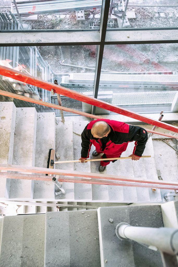 Baugrobreinigung, Baureinigung, Bauendreinigung, Baustellenreinigung, Baureinigung und fachgerechte Entsorgung