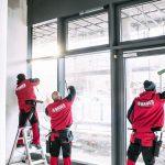 Fensterreinigung Stuttgart, Glasreinigung und Reinigung von Fassadenfenstern